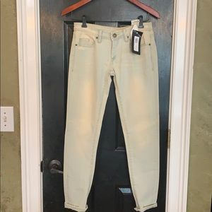 New BLANK NYC light wash jeans 25